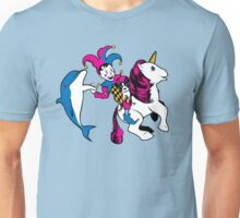 The Unicorn and the Jester Unisex T-Shirt