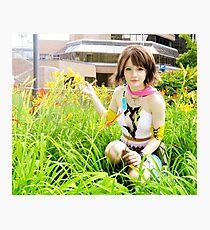 Final Fantasy X-2 Gunner Yuna Cosplay Photographic Print