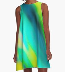 Inside the Turquoise Wave  A-Line Dress