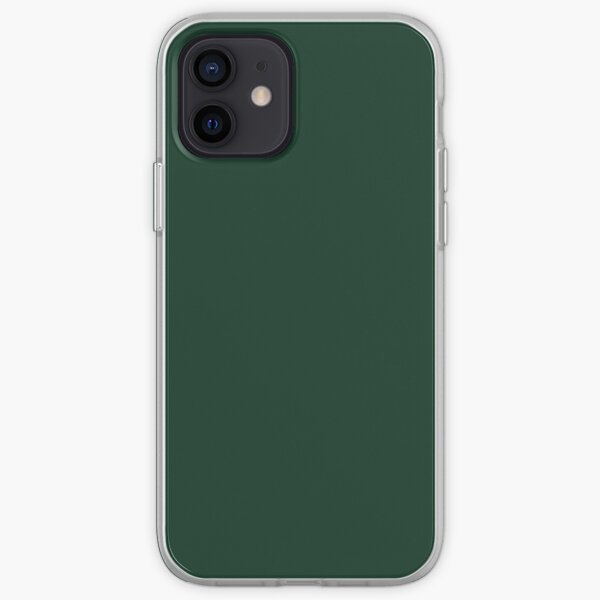 Phthalo Green iPhone Soft Case