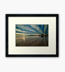 Sky Waves Framed Print