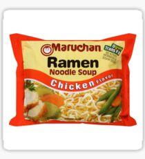 Ramen Noodle Pillow  Sticker