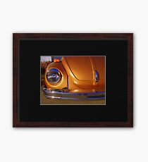Gold bug Framed Print