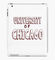 University of Chicago iPad Case/Skin