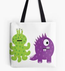 Complementary Monsters! Tote Bag