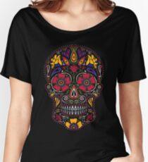 Tag der Toten Sugar Skull Dark Baggyfit T-Shirt