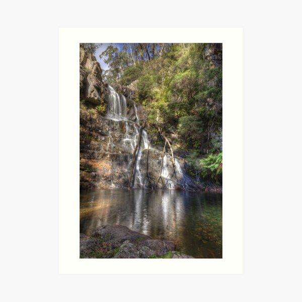 Kanangra Falls Art Print