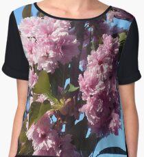 Blossoms Women's Chiffon Top