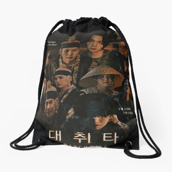 Daech Wita Collage Drawstring Bag