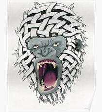 Gorilla on Steroids Poster