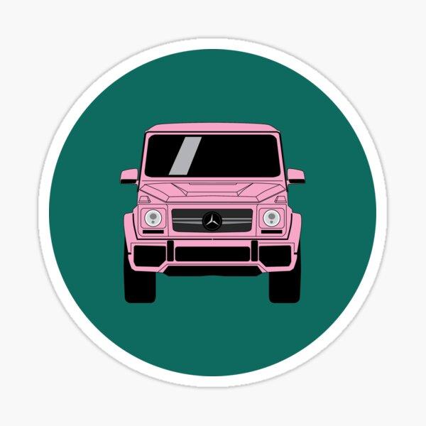 G-Klasse Pink Sticker