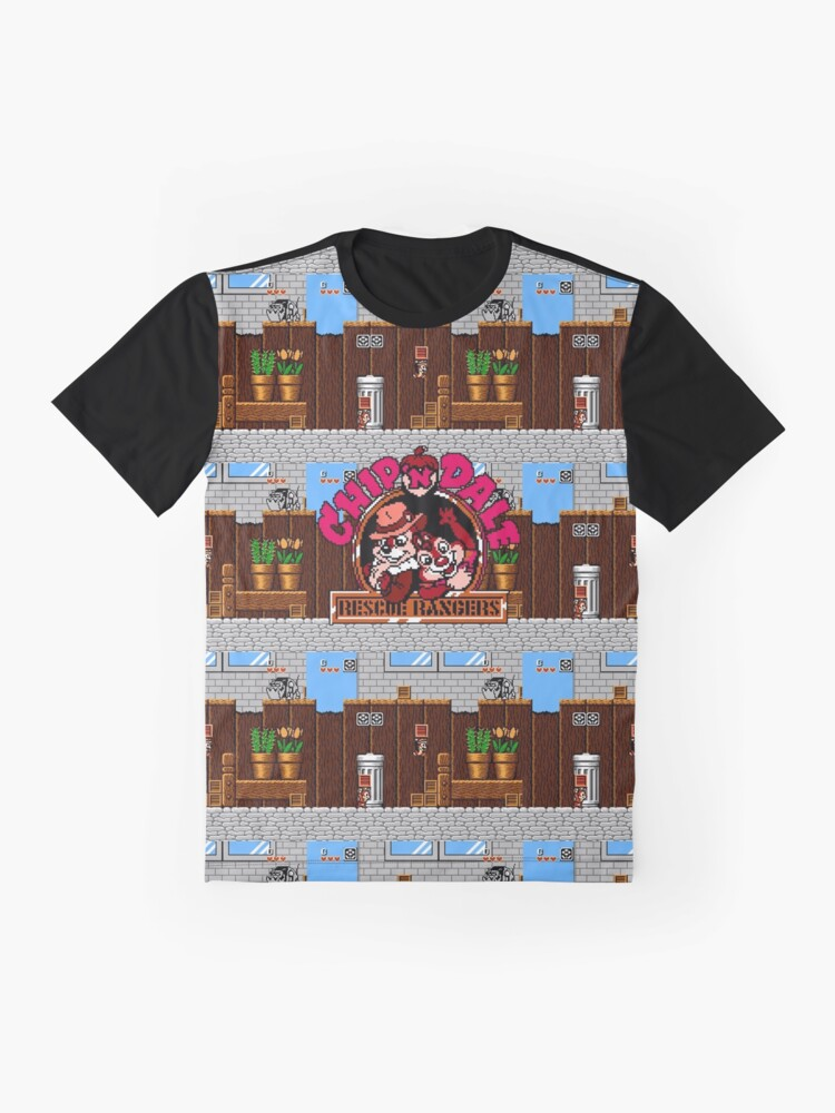 Alternate view of Chip and Dale NES - Graphic Tee Graphic T-Shirt