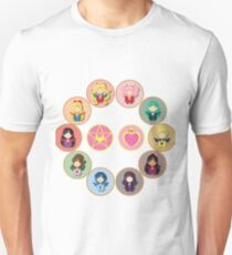 Sailor Senshi Circle Unisex T-Shirt