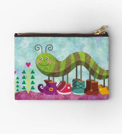 Caty Caterpillar Zipper Pouch