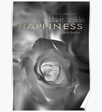 Happiness Infrared © Vicki Ferrari Photography Poster