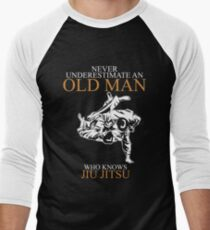 Never Underestimate An Old Man Jiu Jitsu T-shirts T-Shirt