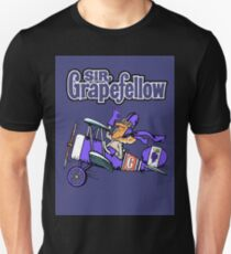 Sir Grapefellow Pop Art Purple Background T-Shirt