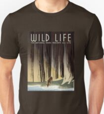 Wildlife/National Parks Vintage Poster by Dept of Interior WPA Unisex T-Shirt