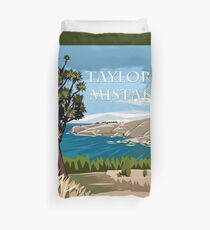 Taylor's Mistake, Christchurch by Ira Mitchell-Kirk Duvet Cover
