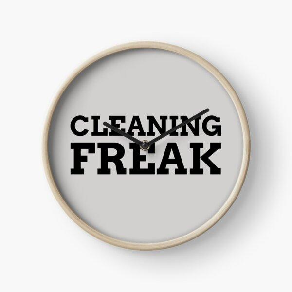 Cleaning Freak Clock