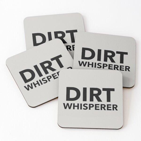 Dirt Whisperer Coasters (Set of 4)