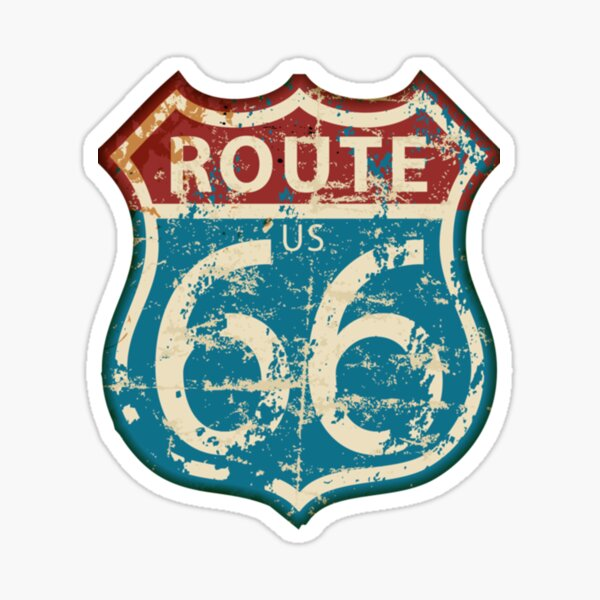 Route 66 | Perfect Gift Sticker