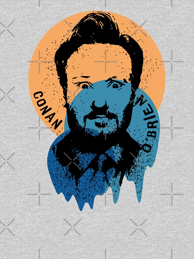 Conan O'Brien Portrait Melted Sprinkle by itsMePopoi