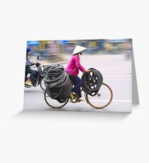 Tyre Delivery Ha Noi Greeting Card