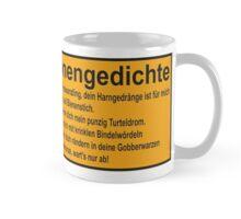 Warnhinweiß Vogonengedicht Mug