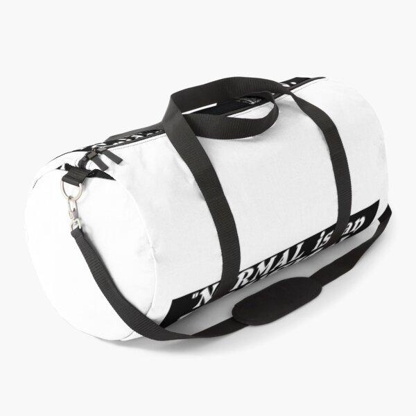 Morticia AddamsNormal Is An Illusion Duffle Bag