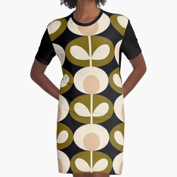 orla kiely- abstract flowers design  Graphic T-Shirt Dress