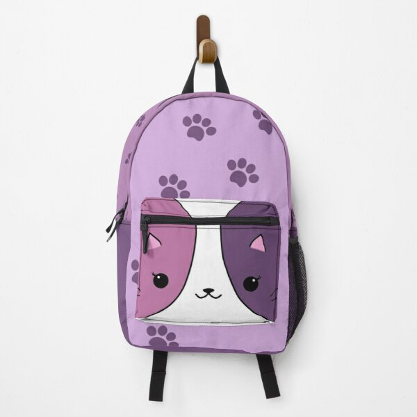 Aphmau cat pink and purple Bag Backpack