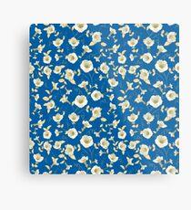 Flower samless pattern for your design Metallbild