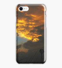 Stormy Kansas Sunset iPhone Case/Skin