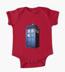 The Tardis One Piece - Short Sleeve