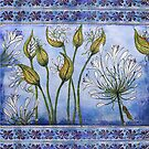 Agapanthus by Sabine Spiesser