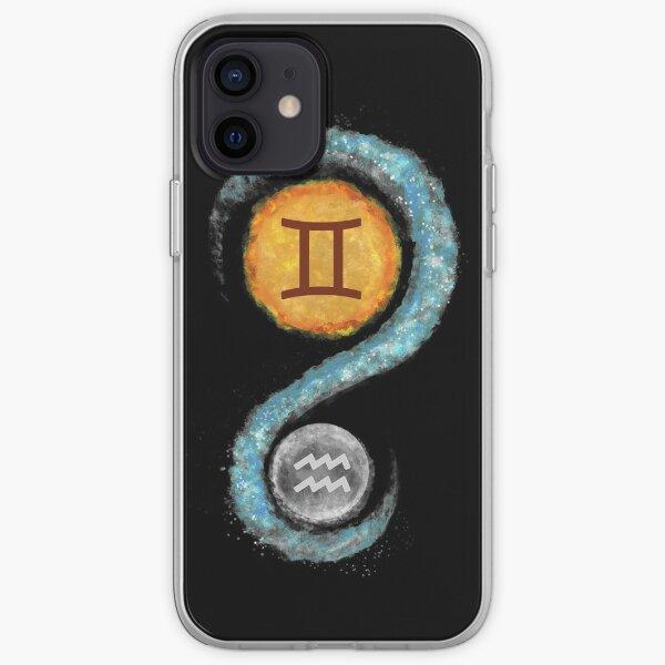 Gemini sun Aquarius moon iPhone Soft Case