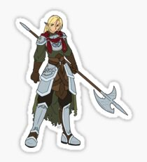 Sterling, the Beast Within Sticker