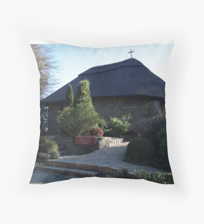 St Patrick on the Hill Throw Pillow