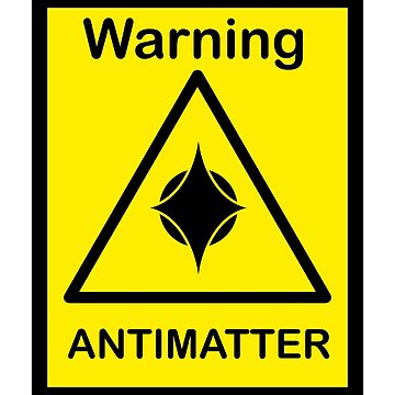 SCP Warning - Antimatter by xebec