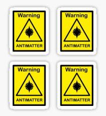 SCP Warning - Antimatter Sticker