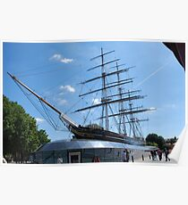 Cutty Sark at Greenwich London Poster