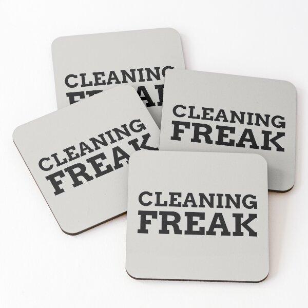 Cleaning Freak Coasters (Set of 4)