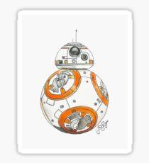 BB-8 Watercolor Sticker