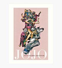 JoJo's Bizarre Adventure - JOJOS Art Print