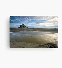 Bay of Le Mont St Michel Canvas Print