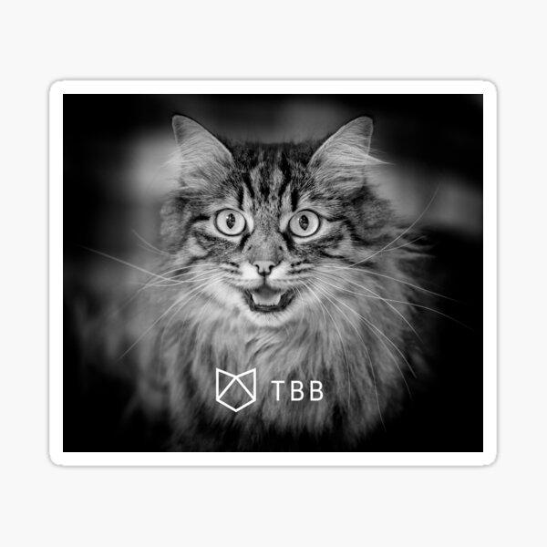Communicating cat Sticker