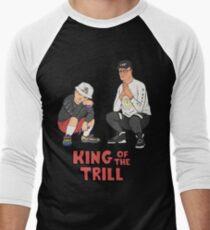 King of the Trill Men's Baseball ¾ T-Shirt