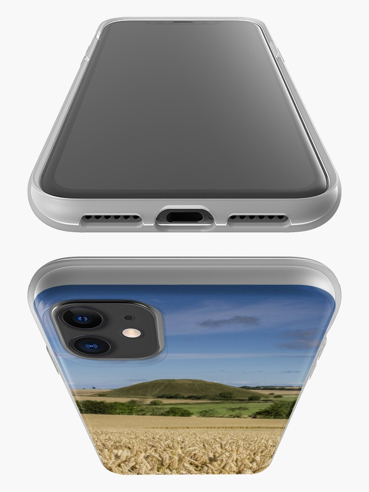 Alternate view of Silbury Hill and crop circle iPhone Case & Cover