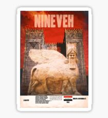 Nineveh Lamassu  Sticker